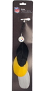 Pittsburgh Steelers Team Color Feather Hair Clip
