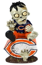 Chicago Bears Zombie On Logo Figurine