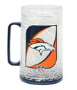 Denver Broncos Monster Crystal Freezer Mug