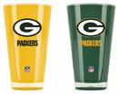 Green Bay Packers Tumblers - Set of 2 (20 oz)