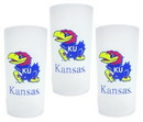 Kansas Jayhawks 3 Piece Tumbler Set