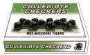 Missouri Tigers Checker Set