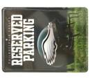 Philadelphia Eagles Metal Parking Sign