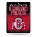 Ohio State Buckeyes Metal Parking Sign