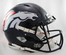 Denver Broncos Revolution Speed Authentic Helmet