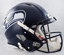 Seattle Seahawks Speed Pro Line Helmet - Stripe Decal