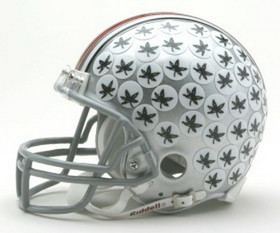 Ohio State Buckeyes Replica Mini Helmet w/ Z2B Mask