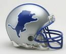 Detroit Lions 1983-2002 Throwback Replica Mini Helmet w/ Z2B Face Mask