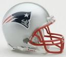 New England Patriots Replica Mini Helmet w/ Z2B Face Mask