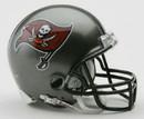 Tampa Bay Buccaneers 1997-2013 Throwback Replica Mini Helmet w/ Z2B Face Mask