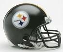 Pittsburgh Steelers Replica Mini Helmet w/ Z2B Face Mask