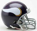 Minnesota Vikings 1961-79 Throwback Replica Mini Helmet w/Z2B Mask