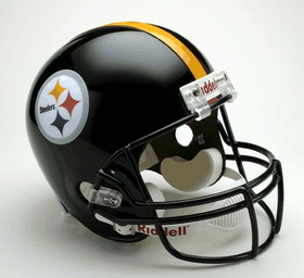 Pittsburgh Steelers Riddell Deluxe Replica Helmet