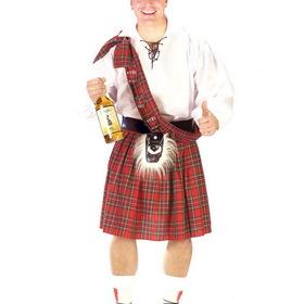 FUN WORLD 130614PFW Mens Plus Size Big Shot Scott Costume