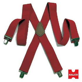 HALCO 1315 Heavy Duty Santa Suspenders Adult