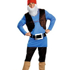 DISGUISE 38206PLDI Mens Plus Size Papa Gnome Costume