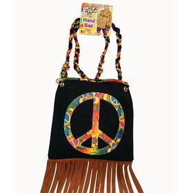 FORUM NOVELTIES 61743 Hippie Hand Bag