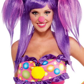 FORUM NOVELTIES 67868F Women's Circus Sweetie Berry Bubbles Wig