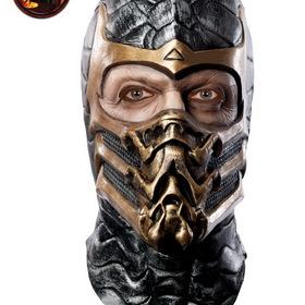RUBIES COSTUME 68463R Mortal Kombat Scorpion Latex Adult Mask