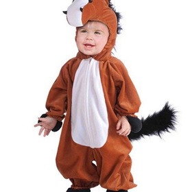 FORUM NOVELTIES 68475F-TODD Toddler Plush Horse Costume