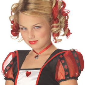 CALIFORNIA COSTUME COLLECTIONS 70608CC Curly Clips - Red
