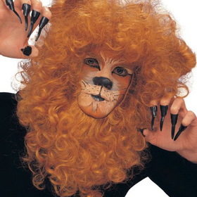 RUBIES COSTUME ATC00351210 Lion Mane With Ears Animal Set