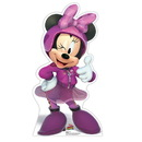 Minnie Roadster Cardboard Standup