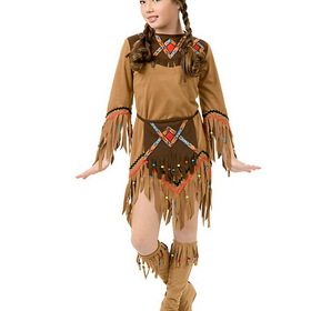 CHARADES COSTUMES CH632 Child Indian Princess Costume