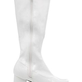 E175-DORAW-XS White Patent Gogo Boot Child