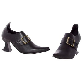 E251-HAZEL-XL Black Witch Shoe Child
