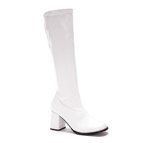 Ellie Shoes EGOGOW White Patent Gogo Boot