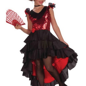 FORUM NOVELTIES F67960-L Girl's Designer Spanish Dancer Costume