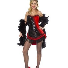 FRANCOAMERICAN NOVELTY FR48318 Sexy Showgirl Adult Costume