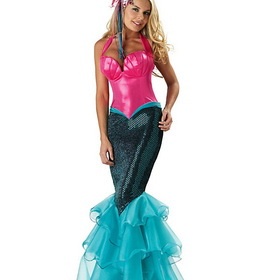 INCHARACTER COSTUMES IC1033 Elite Sexy Mermaid Adult Costume