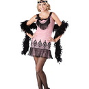 INCHARACTER COSTUMES IC14029 Teen Flirty Flapper Costume