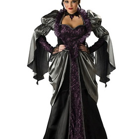 INCHARACTER COSTUMES IC5033 Elite Womens Plus Wicked Queen Costume
