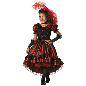 INCHARACTER COSTUMES IC7021-S Child Elite Can-can Cutie Costume