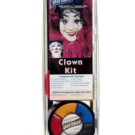 MEHRON KMPCM Clown Character Makeup Kit
