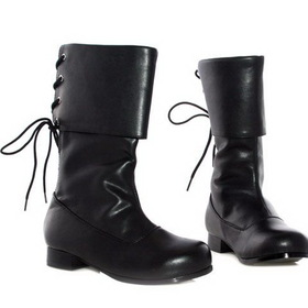 PL3409BK-XL Black Buccaneer Boot Child