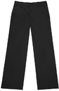 Classroom Uniforms 51942S Girls Slim Adj. Flat Front Trouser