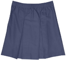 Classroom Uniforms 55863 Girls Plus Kick Pleat Skirt
