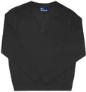 Classroom Uniforms 56704 Adult Unisex Long Sleeve V-Neck Sweater