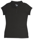 Classroom Uniforms 58222 Girls Stretch Pique Polo