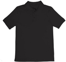 Classroom Uniforms 58912 Youth Unisex Short Sleeve Interlock Polo