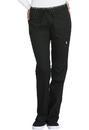 Cherokee CK003T Mid Rise Straight Leg Pull-on Pant, Tall, Inseam 34