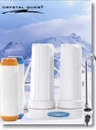 Crystal Quest CQE-CT-00154 Countertop Replaceable Double Nitrate PLUS Water Filter System