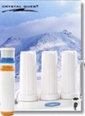 Crystal Quest CQE-CT-00155 Countertop Replaceable Triple Nitrate Water PLUS Filter System