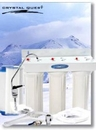Crystal Quest CQE-US-00310 Undersink Replaceable Triple Multi ULTRA Water Filter System