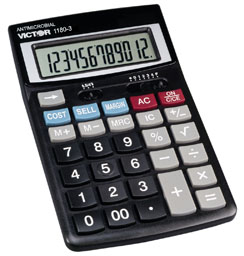 Victor 1180-3A Semi-desktop Calculator, 1180-3A