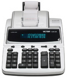 Victor 1240-3A Commercial Printing Calculator, 1240-3A